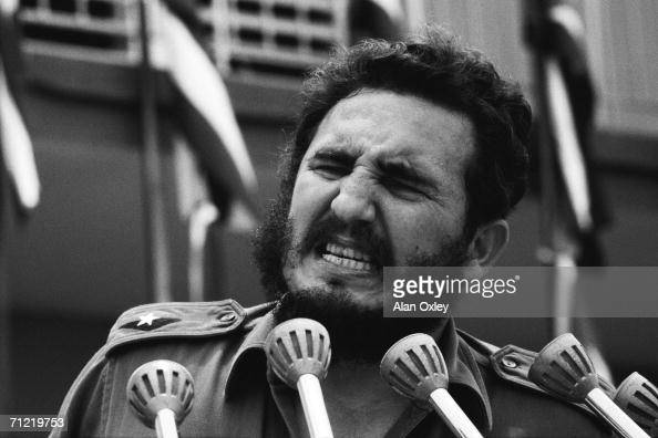 Just weeks before the Cuban Missile Crisis an angry Fidel Castro denounces the US for firing on Havana's shoreline from gunboats at night Several...