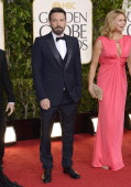 70th ANNUAL GOLDEN GLOBE AWARDS Pictured Actor Ben Affleck arrives to the 70th Annual Golden Globe Awards held at the Beverly Hilton Hotel on January...