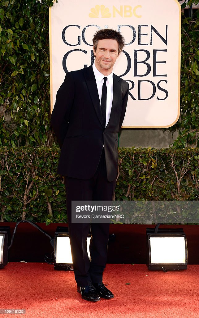 70th ANNUAL GOLDEN GLOBE AWARDS Pictured Actor Jack Davenport arrives to the 70th Annual Golden Globe Awards held at the Beverly Hilton Hotel on...
