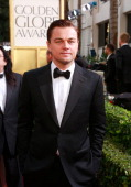 70th ANNUAL GOLDEN GLOBE AWARDS Pictured Actor Leonardo DiCaprio arrives to the 70th Annual Golden Globe Awards held at the Beverly Hilton Hotel on...