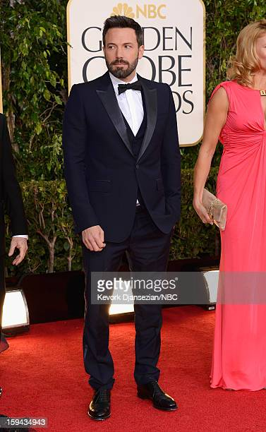 70th ANNUAL GOLDEN GLOBE AWARDS Pictured Actor/director Ben Affleck arrives to the 70th Annual Golden Globe Awards held at the Beverly Hilton Hotel...