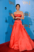 70th ANNUAL GOLDEN GLOBE AWARDS Pictured Actress Jennifer Lawrence winner Best Actress in a Motion Picture Comedy or Musical for 'Silver Linings...