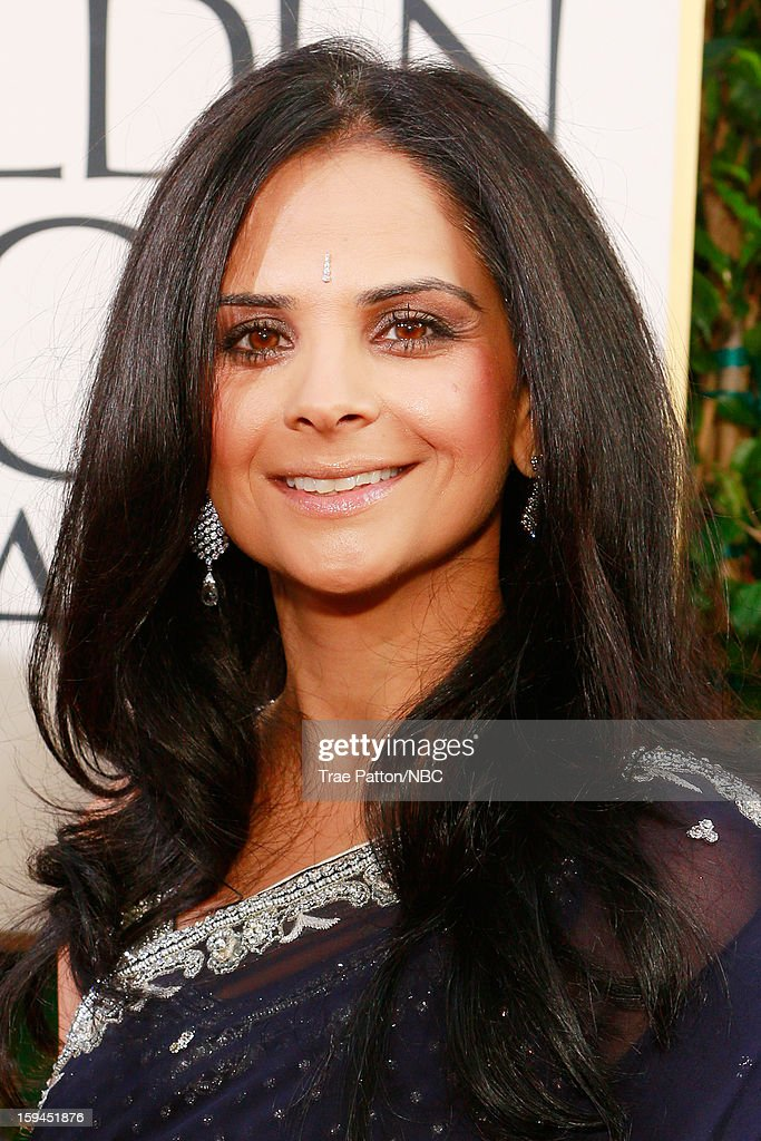 70th ANNUAL GOLDEN GLOBE AWARDS -- Pictured: Bela Bajaria, Executive Vice President, Universal Television arrives to the 70th Annual Golden Globe Awards held at the Beverly Hilton Hotel on January 13, 2013.