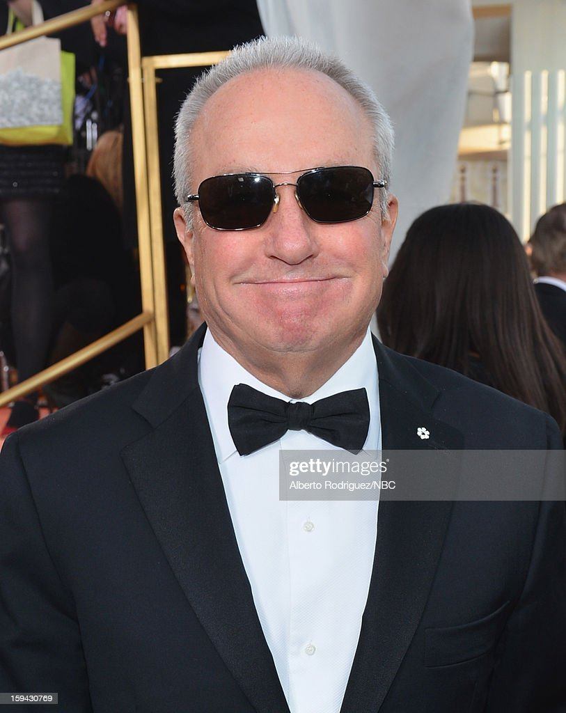 70th ANNUAL GOLDEN GLOBE AWARDS -- Pictured: Producer Lorne Michaels arrives to the 70th Annual Golden Globe Awards held at the Beverly Hilton Hotel on January 13, 2013.