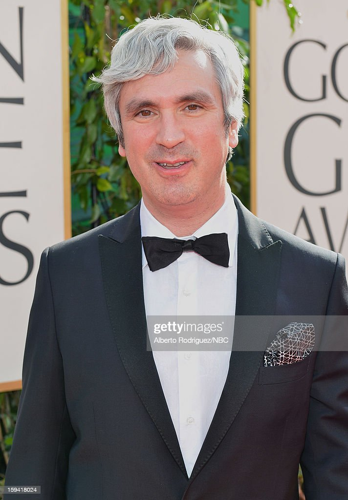 70th ANNUAL GOLDEN GLOBE AWARDS -- Pictured: Publicist Jeff Sanderson arrives to the 70th Annual Golden Globe Awards held at the Beverly Hilton Hotel on January 13, 2013.