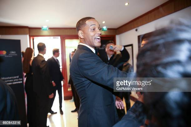 70th edition of the Cannes International Film Festival Actor Will Smith at the Majestic hotel in Cannes May 17 2017