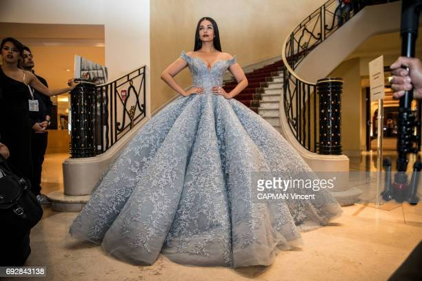 70th edition of the Cannes International Film Festival Indian actress Aishwarya Rai in the Martinez hotel in Cannes May 19 2017
