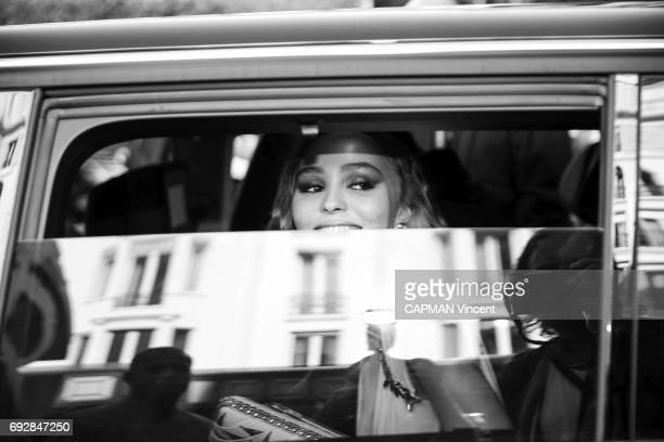 70th edition of the Cannes International Film Festival Lily Rose Depp arriving at the Majestic hotel May 17 2017