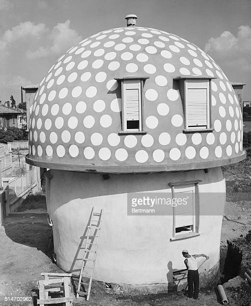 When Italian architect Mario Cavalle says his business is mushrooming he speaks the literal truth He built this mushroom house at the cost of $3000...