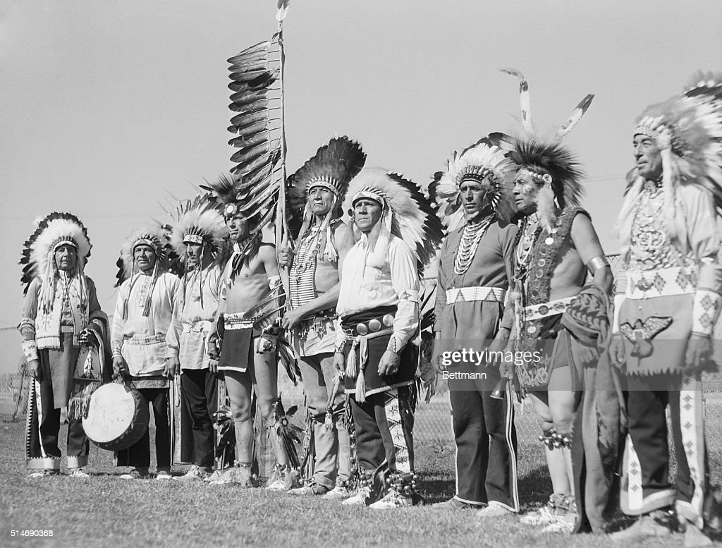 7/23/33Salinas California Indians who gathered to participate in the 22nd annual California Rodeo