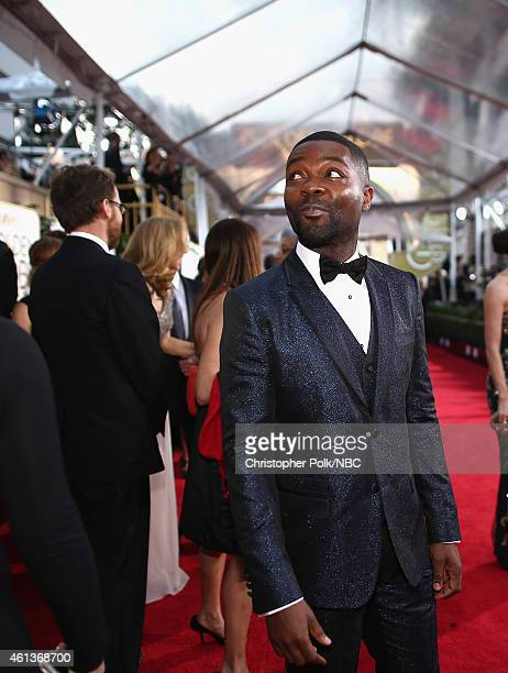 72nd ANNUAL GOLDEN GLOBE AWARDS Pictured Actor Actor David Oyelowo arrives to the 72nd Annual Golden Globe Awards held at the Beverly Hilton Hotel on...