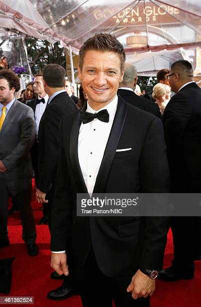 72nd ANNUAL GOLDEN GLOBE AWARDS Pictured Actor Jeremy Renner arrives to the 72nd Annual Golden Globe Awards held at the Beverly Hilton Hotel on...