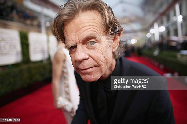 72nd ANNUAL GOLDEN GLOBE AWARDS Pictured Actor William H Macy arrives to the 72nd Annual Golden Globe Awards held at the Beverly Hilton Hotel on...