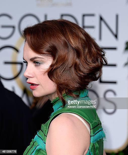 72nd ANNUAL GOLDEN GLOBE AWARDS Pictured Actress Ruth Wilson arrive to the 72nd Annual Golden Globe Awards held at the Beverly Hilton Hotel on...