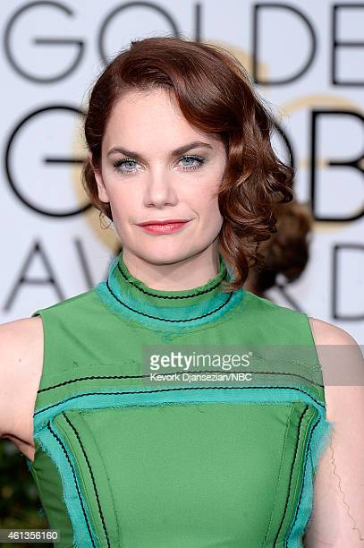 72nd ANNUAL GOLDEN GLOBE AWARDS Pictured Actress Ruth Wilson arrives to the 72nd Annual Golden Globe Awards held at the Beverly Hilton Hotel on...