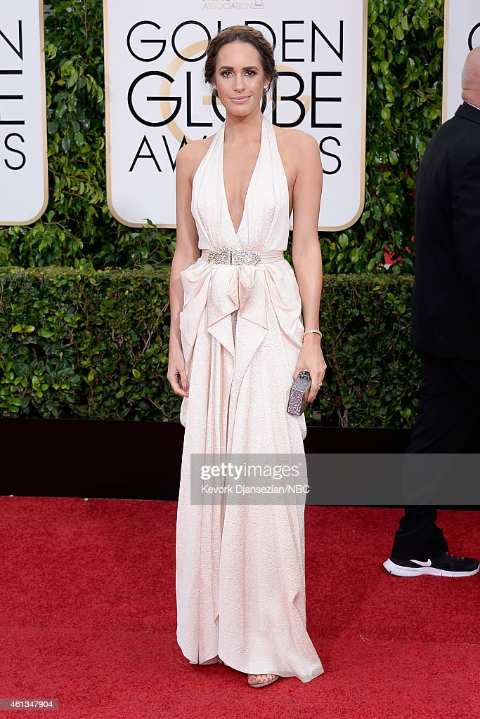72nd ANNUAL GOLDEN GLOBE AWARDS Pictured Louise Roe arrives to the 72nd Annual Golden Globe Awards held at the Beverly Hilton Hotel on January 11 2015