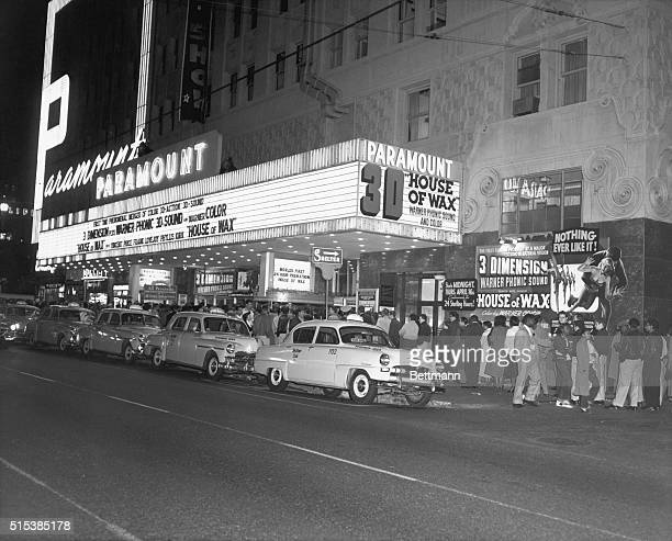 7/3/1953Los Angeles CA In a blaze of color and pageantry Los Angeles officially proclaims '3D Day' with the opening of Warner Brothers' widely...