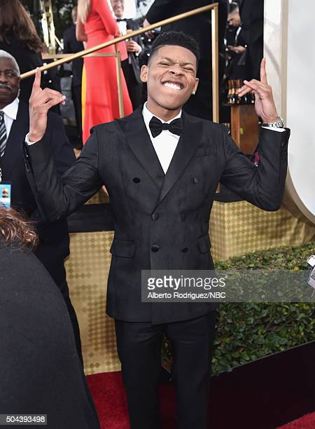 73rd ANNUAL GOLDEN GLOBE AWARDS Pictured Actor Bryshere Y Gray arrives to the 73rd Annual Golden Globe Awards held at the Beverly Hilton Hotel on...