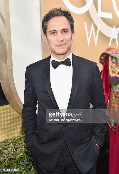 73rd ANNUAL GOLDEN GLOBE AWARDS Pictured Actor Gael García Bernal arrives to the 73rd Annual Golden Globe Awards held at the Beverly Hilton Hotel on...
