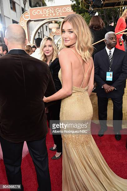 73rd ANNUAL GOLDEN GLOBE AWARDS Pictured Actor Jason Statham and actress/model Rosie HuntingtonWhiteley arrive to the 73rd Annual Golden Globe Awards...
