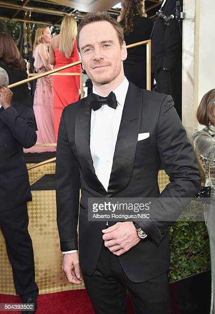 73rd ANNUAL GOLDEN GLOBE AWARDS Pictured Actor Michael Fassbender arrives to the 73rd Annual Golden Globe Awards held at the Beverly Hilton Hotel on...
