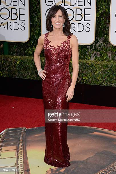 73rd ANNUAL GOLDEN GLOBE AWARDS Pictured Actress Felicity Huffman arrives to the 73rd Annual Golden Globe Awards held at the Beverly Hilton Hotel on...