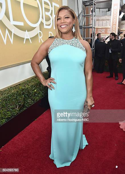 73rd ANNUAL GOLDEN GLOBE AWARDS Pictured Actress Queen Latifah arrives to the 73rd Annual Golden Globe Awards held at the Beverly Hilton Hotel on...