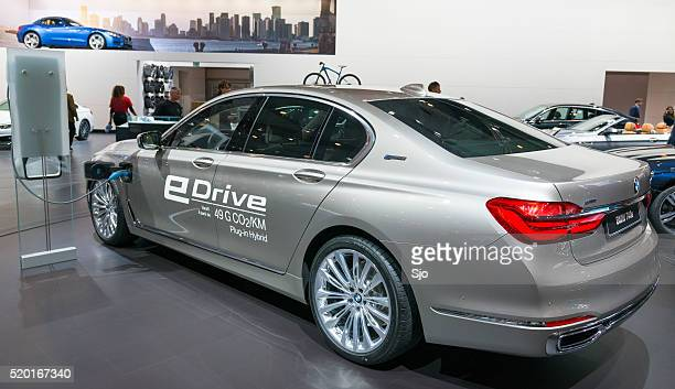 BMW 740e 7 series luxury plug-in hybrid limousine car