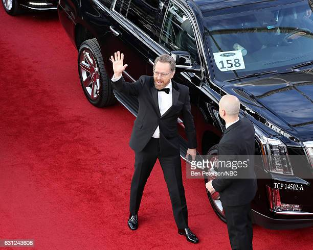 74th ANNUAL GOLDEN GLOBE AWARDS Pictured Actor Bryan Cranston arrives to the 74th Annual Golden Globe Awards held at the Beverly Hilton Hotel on...