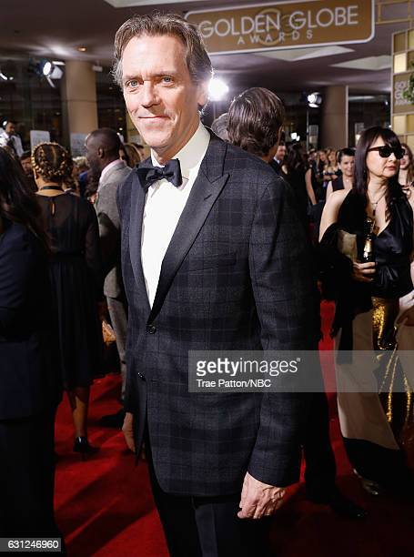 74th ANNUAL GOLDEN GLOBE AWARDS Pictured Actor Hugh Laurie arrives to the 74th Annual Golden Globe Awards held at the Beverly Hilton Hotel on January...
