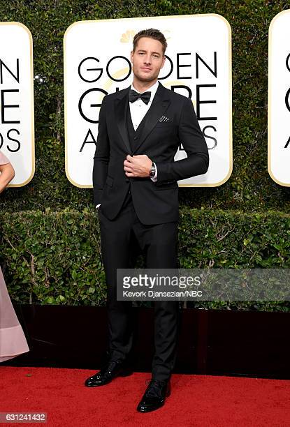 74th ANNUAL GOLDEN GLOBE AWARDS Pictured Actor Justin Hartley arrives to the 74th Annual Golden Globe Awards held at the Beverly Hilton Hotel on...
