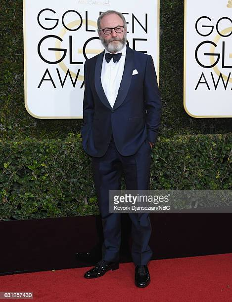 74th ANNUAL GOLDEN GLOBE AWARDS Pictured Actor Liam Cunningham arrives to the 74th Annual Golden Globe Awards held at the Beverly Hilton Hotel on...