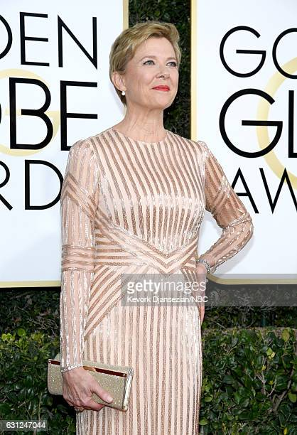 74th ANNUAL GOLDEN GLOBE AWARDS Pictured Actress Annette Bening arrives to the 74th Annual Golden Globe Awards held at the Beverly Hilton Hotel on...
