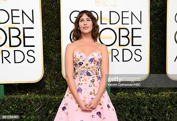 74th ANNUAL GOLDEN GLOBE AWARDS Pictured Actress Lola Kirke arrives to the 74th Annual Golden Globe Awards held at the Beverly Hilton Hotel on...