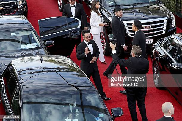 74th ANNUAL GOLDEN GLOBE AWARDS Pictured Director JJ Abrams arrives to the 74th Annual Golden Globe Awards held at the Beverly Hilton Hotel on...