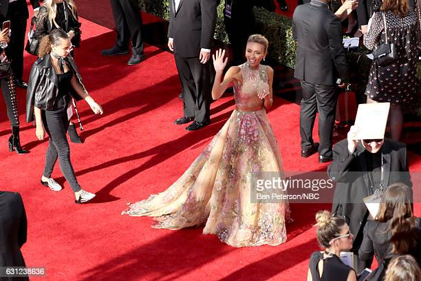 74th ANNUAL GOLDEN GLOBE AWARDS Pictured Ryan Michelle Giuliana Rancic arrives to the 74th Annual Golden Globe Awards held at the Beverly Hilton...