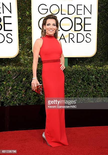 74th ANNUAL GOLDEN GLOBE AWARDS Pictured TV Personality Kit Hoover arrives to the 74th Annual Golden Globe Awards held at the Beverly Hilton Hotel on...