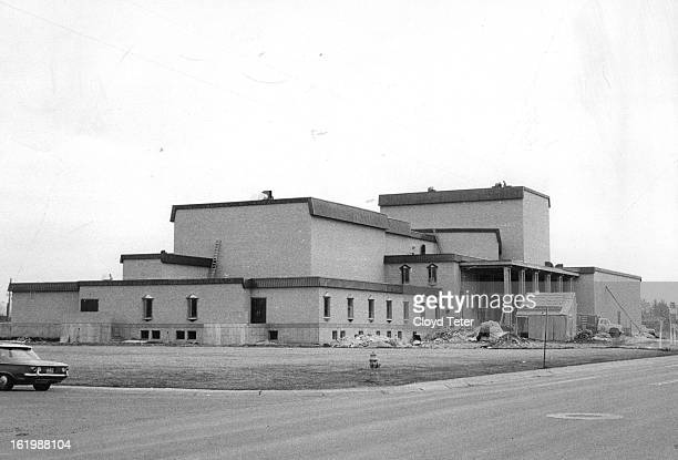 MAR 7 1968 MAR 9 1968 MAR 13 1968 A 750seat theatre an experimental theatre and a 300person recital hall as well as art and music studios will be...