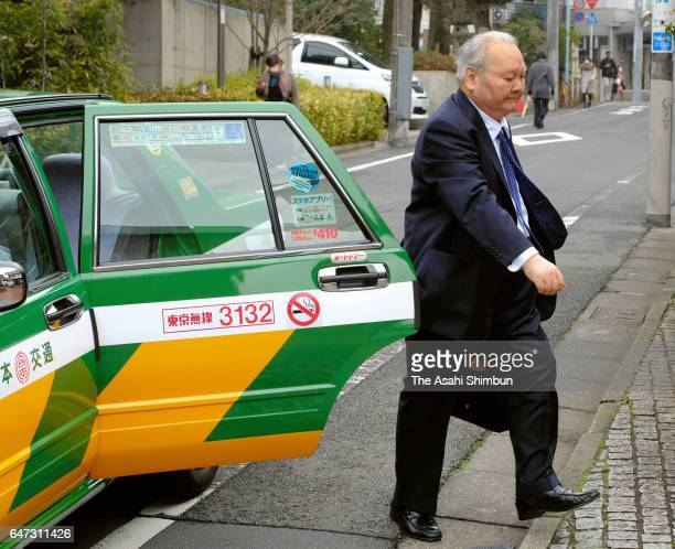 76yearold professional shogi player Hifumi Kato is seen on arrival to compete in the Meijin Title Ranking C group 2 match at Shogi Kaikan on March 2...