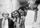 7/8/1976Cedar Rapids IACelebrities showed up today at the trial of two American Indians accused of murdering two FBI agents last year on the Pine...