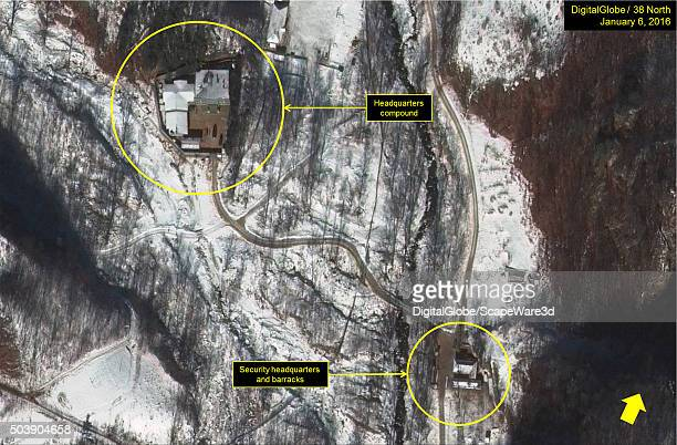 North Korean Nuclear Test Figure 6 Activity at the Punggyeri Headquarters and Command Center Date January 6 2016