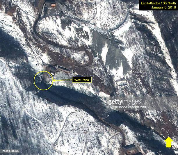 North Korean Nuclear Test Figure 9B No activity at the West Portal January 6 2016