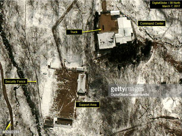 Figure 5 DigitalGlobe imagery showing a truck present at the sites Command Center Date March 7 2017