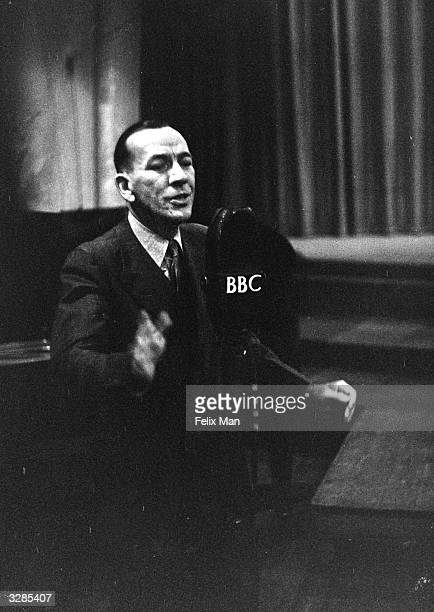 Noel Coward English actor and playwright makes his own contribution towards the problem of how to treat Germany Original Publication Picture Post...