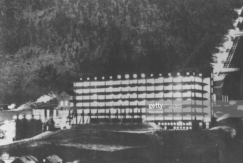 A hydroelectric power plant in the Norwegian town of Rjukan where German scientists attempted to produce the 'heavy water' necessary for the...
