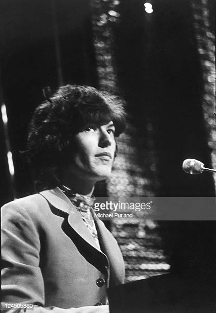 Traffic perform on BBC TV show Top of the Pops London December 1967 Steve Winwood