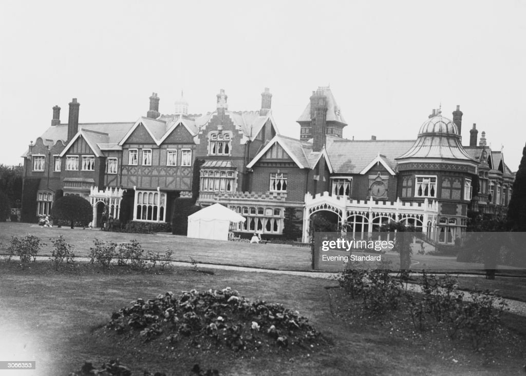 Bletchley Park, Buckinghamshire, HQ of the Allied cryptopgraphers during WW II and where the German 'Enigma' and 'Lorenz' codes, both considered unbreakable, were deciphered.
