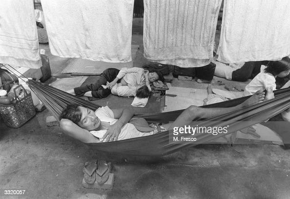 Vietnamese boat people in Hong Kong Government Dock Yard