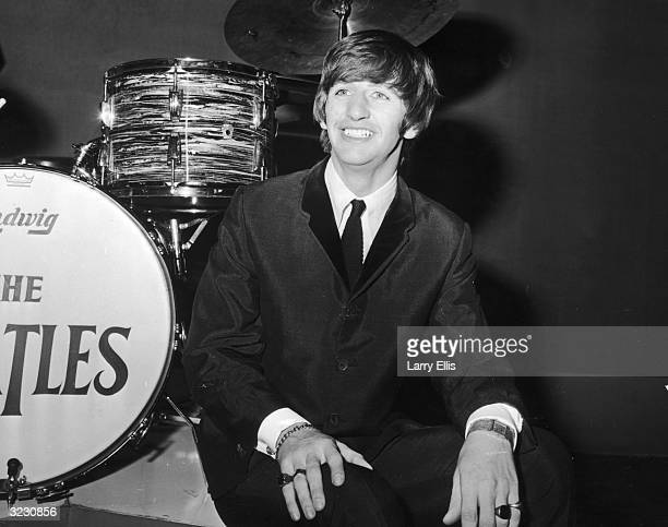 British drummer Ringo Starr of The Beatles in London on his 24th birthday