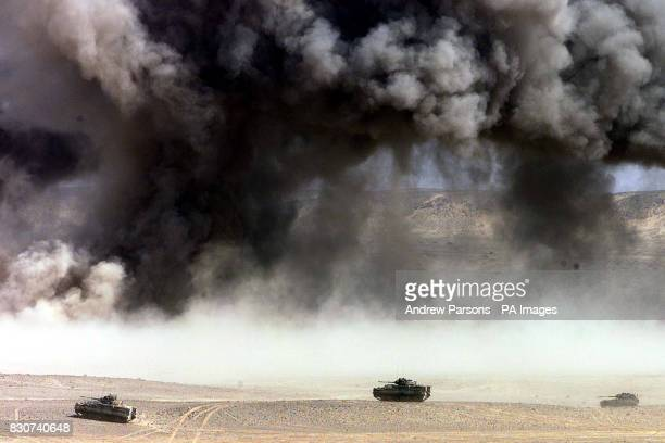 On this day in 2001 UK and US forces began airstrikes on Afghanistan The British Armed forces on exercise Saif Sarrea 2 in the desert of Oman with...